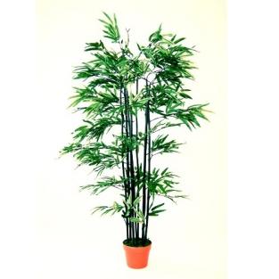 Kunststof bamboeplant nigra 210 cm for Bamboe plant